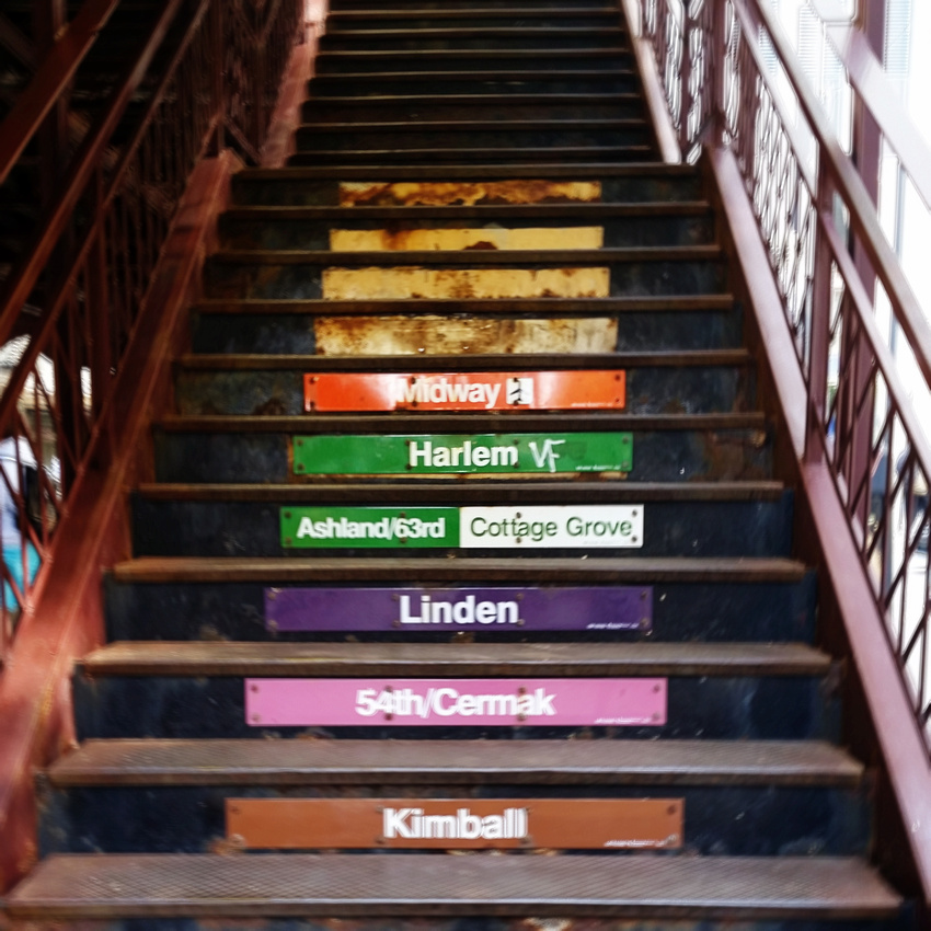L stairs